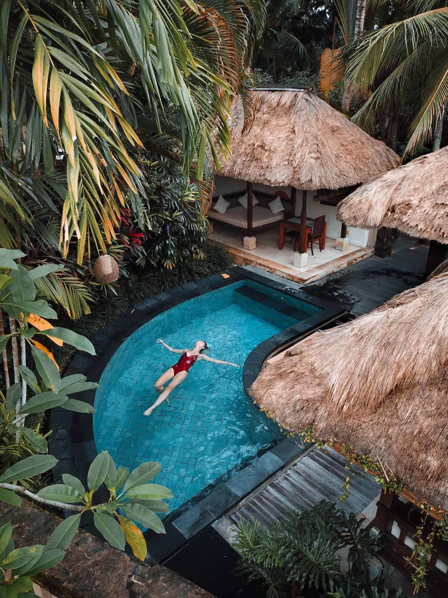 bali hotel with pool